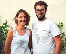 Laëtitia Mire et Valentin Douget, association Nhomade.