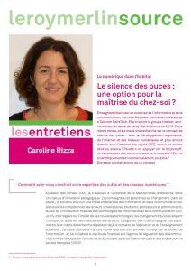 Entretien Caroline Rizza
