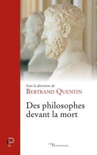 couverture DES PHILOSOPHES DEVANT LA MORT