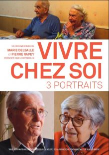 Visuel Vivre chez soi 3 portraits