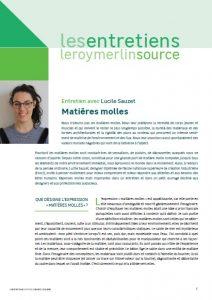Leroy Merlin Source Matières Molles
